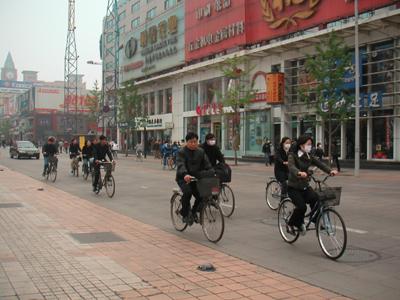 北京を訪れているまさしくそのとき、SARS騒ぎが…
